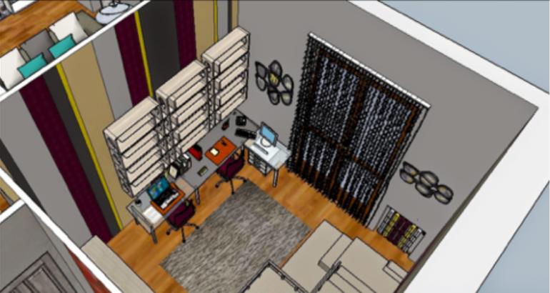 Corso di progettazione 3d con sketchup educaform for Progettazione 3d online